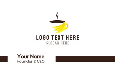 Banana Coffee Business Card