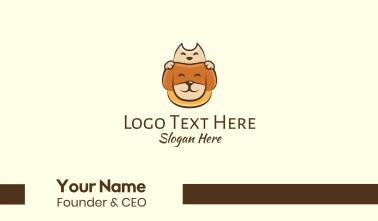 Adorable Pet Animals Business Card