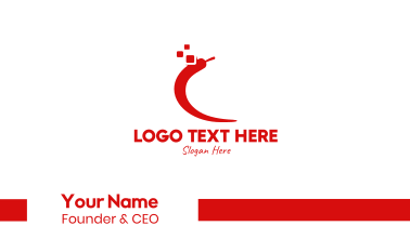 Spicy Red Chili Business Card