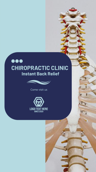 Chiropractic Clinic Facebook story