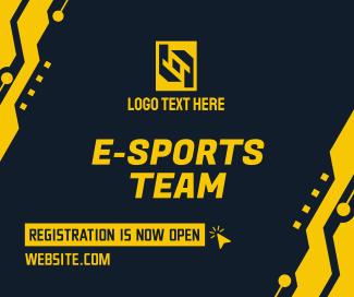 Esports Team Registration Facebook Post