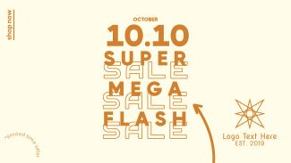 Flash Sale 10.10 Facebook event cover