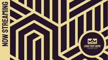 Art Deco Album Cover Facebook event cover