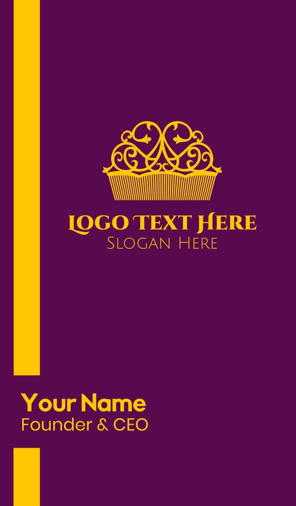 Luxurious Queen Crown Business Card