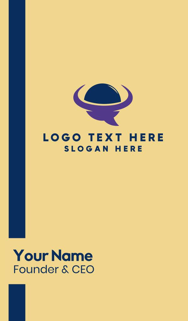 Talk Planet Business Card