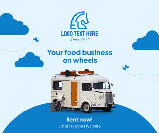 Rent Food Truck Facebook post
