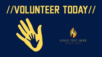 Volunteer Today Facebook event cover