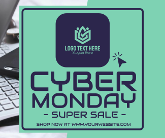 Cyber Monday Facebook post