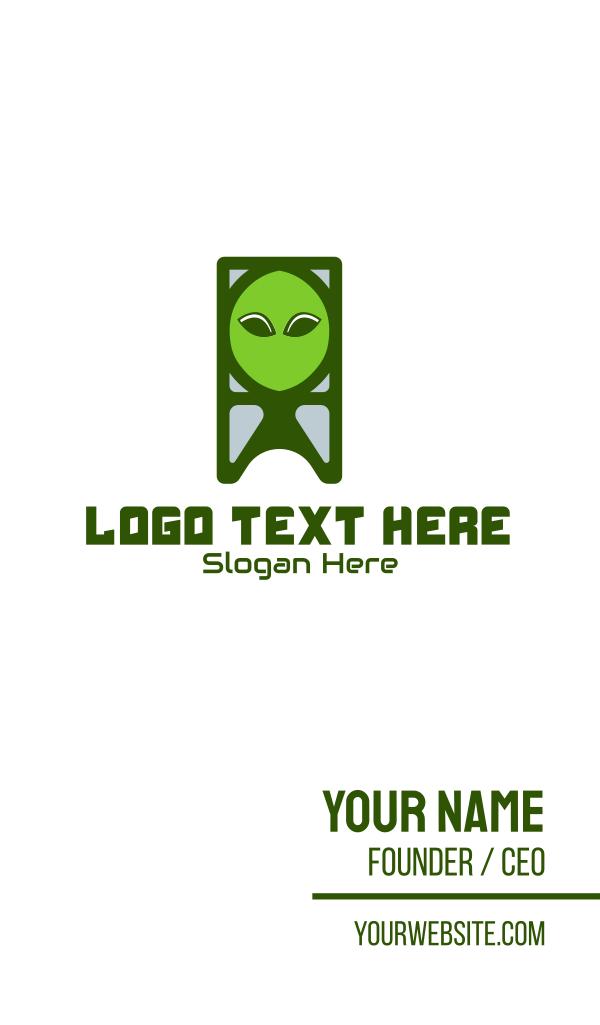 Alien Creature Business Card