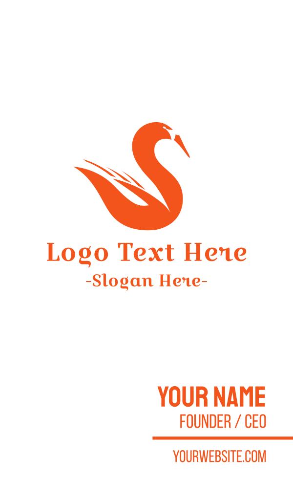 Fire Swan Business Card