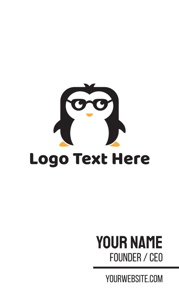 Nerd Penguin Business Card