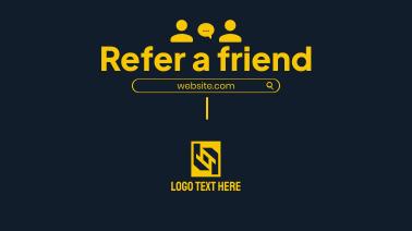 Refer A Friend Facebook event cover