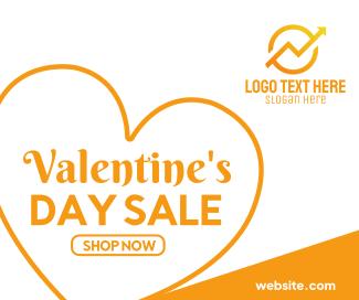 Valentines Day Sale Facebook post