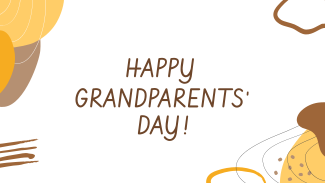 Grandparent's Day Abstract Facebook Event Cover