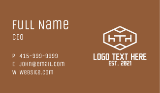 Dining Furniture Company Business Card