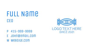 Minimalist Surveillance Eye  Business Card