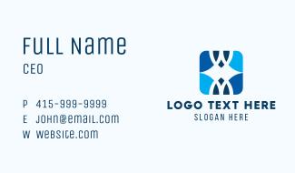 Modern Style Pattern Business Card