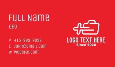 Emergency Paramedic Express Business Card