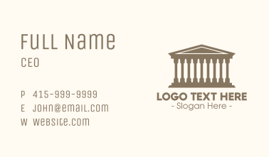 Ancient Bakery Business Card