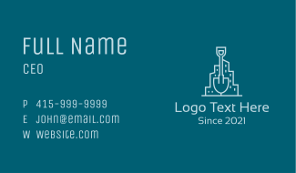Shovel City Buildings  Business Card