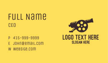 Film Cannon Business Card