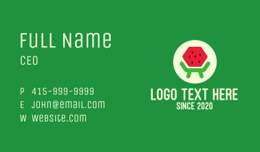 Fresh Watermelon Furniture  Business Card