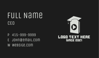 Audio Online Masterclass Business Card