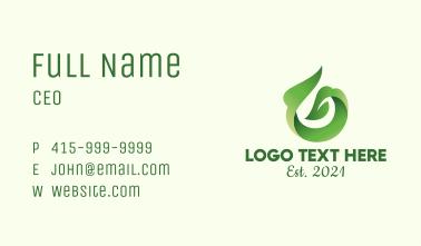 Herbal Tea Shop Business Card