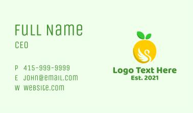 Lemon Swan Business Card