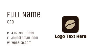 Coffee App Business Card
