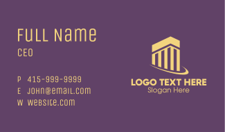 Industrial Building Company Business Card