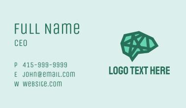Green Star Brain  Business Card