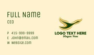 Flying Goose Bird  Business Card