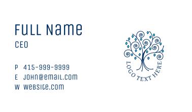 Winter Jewelry Shop  Business Card