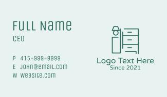 Minimalist Home Furniture  Business Card