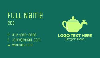 Teapot Tap Business Card