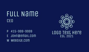 Blue Lantern Decor Business Card