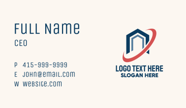 House Orbit Real Estate Business Card