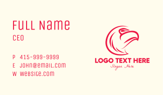 Red Eagle Business Card