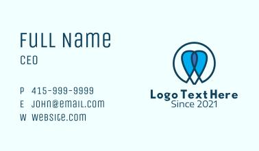 Monoline Dental Care  Business Card