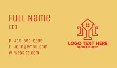 Minimalist Home Design Business Card