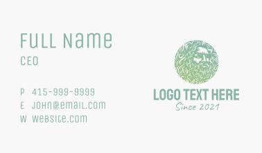 Greek Mythology Emblem  Business Card