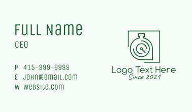 Stopwatch Tracker Pin   Business Card