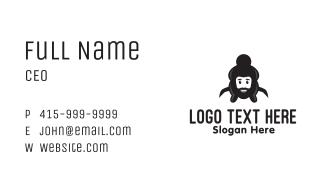 Sumo Wrestler Man Business Card