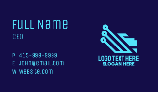 Blue Lion Tech Business Card