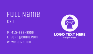 Gaming Spray Paint Business Card