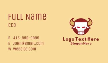 Chinese Zodiac Ox Business Card