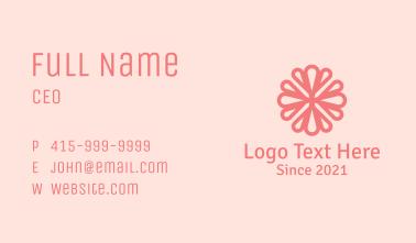 Flower Gardening  Business Card