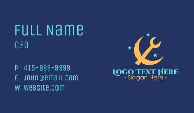Pickaxe Crescent Business Card