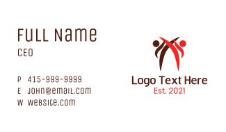 Minimalist Karate  Business Card